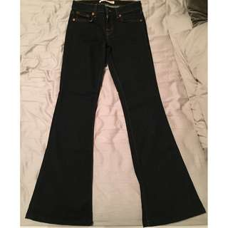 Flared J Brand Jeans - Size 27