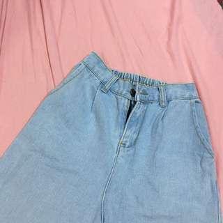 五分褲 牛仔短褲