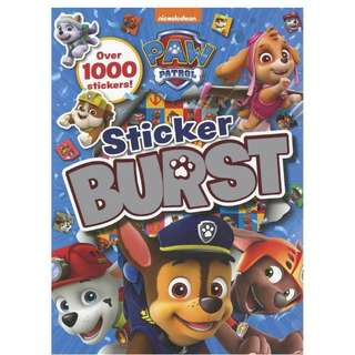 Paw patrol sticker burst book