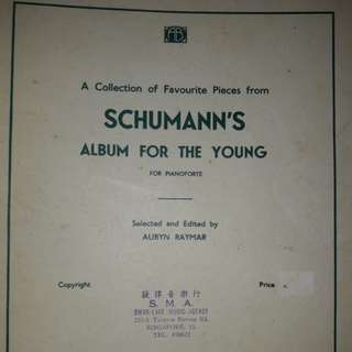 Schumann : Album for the young.