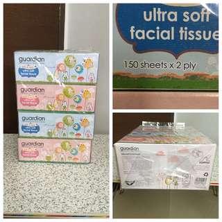 Set Of 2 Ultra Soft Facial Tissues