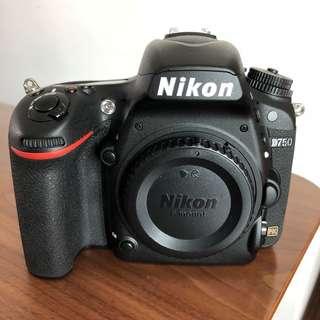 Nikon D750 w new upgraded shutter by Nikon service centre