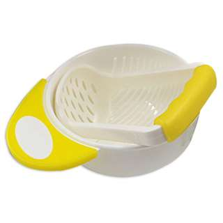 Food Masher and Bowl Yellow