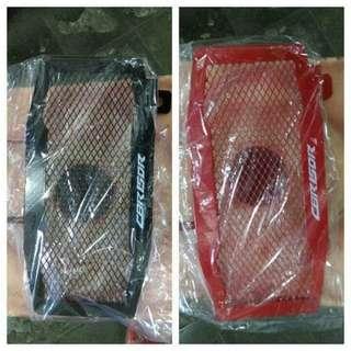 Cover radiator cbr150 k45g/cover tutup radiator all new cbr facelift