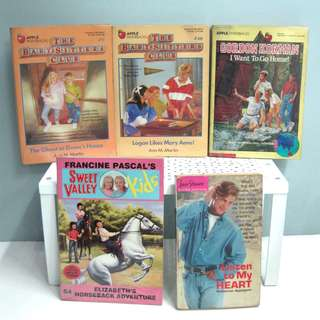 Take all Sweet Valley Kids Babysitter's Club