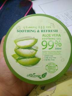 Always 21 - Shoothing & Refresh Aloe Vera Soothing gel 99%