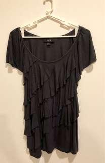 Black Layered Blouse (Size M)