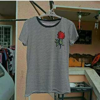 Rose Patched Top