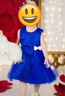 Baby Girl/ Toddler Blue Dress
