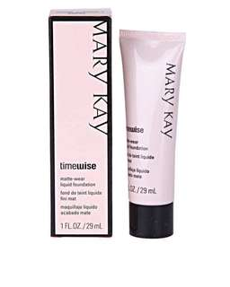 Mary Kay Timewise Foundation in beige 2