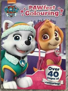 Patrol patrol prefect colouring book