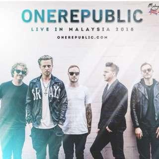 ONEREPUBLIC LIVE IN MALAYSIA 2018