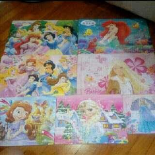 Disney princess bundle jigsaw puzzles
