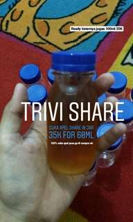 Cuka apel share in jar