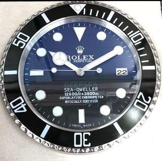 Rolex jam dinding