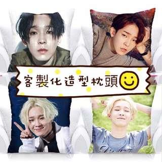 韓國團體 winner 客製化造型枕頭