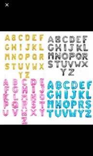 """Alphabet Letter Balloon - 40cm (16"""")"""
