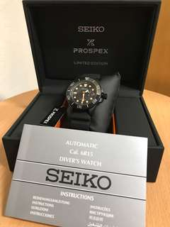 Seiko 男裝手錶 PROSPEX LIMITED EDITION (made in Japan)