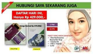 PROMO DAFTAR MEMBER (1Box 50 gram + Kit )