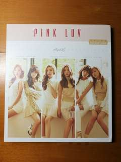 Apink -Pink Luv+ Na eun photocard (Pre-loved)