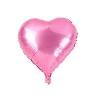 NEW 2 Balon Foil Love mini 25cm(pink muda +pink tua)