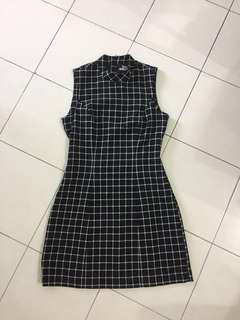 [BN] Checkered Dress