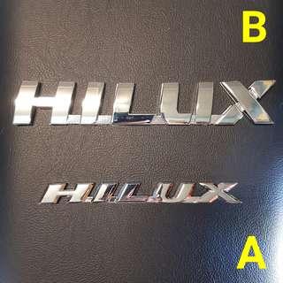 Toyota Hilux Emblem Logo