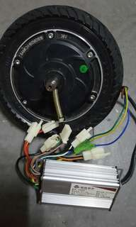 Selling escooter motor with controller together