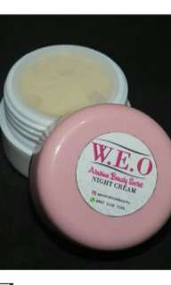 W. E. O night cream