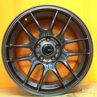 17 inch SPORT RIM ENKEI TUNING RACING RAIJIN WHEELS