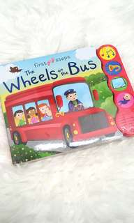 Baby sound book - the wheels on the bus