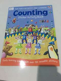 Sticker book counting