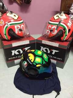 Limited edition kyt helmet mugello rosso