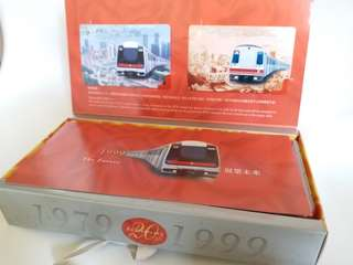 MTR 地鐵二十週年紀念車票連模式列車套裝