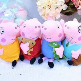 佩佩豬玩偶一家人#超取半價