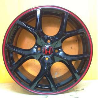 17 inch SPORT RIM HONDA TYPE-R RACING CITY JAZZ