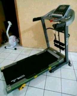 Treadmill TL288 3Fungsi 2Hp Electric Bergaransi 1Tahun