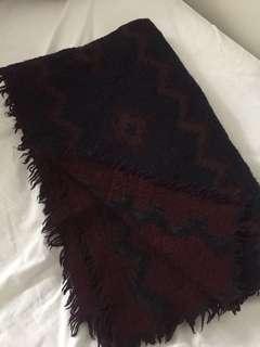aritzia mosaic blanket scarf