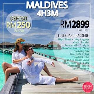 Maldives 4H3M All-In