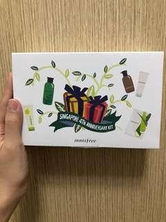 Innisfree singapore 4th anniversary KIT