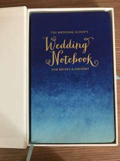WEDDING PLANNING NOTEBOOK BY THEWEDDINGSCOOP