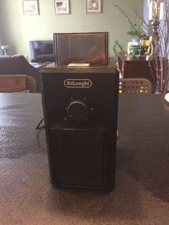 LAST CHANCE! DeLonghi Coffee Grinder FOR PARTS / REPAIR!