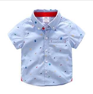 Baby summer short-sleeved shirt