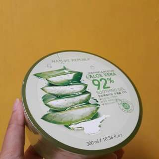 ORIGINAL!!! Nature Republic Aloevera 92% Original (GROSIR)