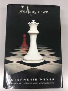 Breaking dawn (hardcover) by stephenie meyer