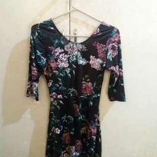 (REPRICED) Floral dress