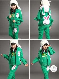 Girl kid's winter Wear 3 pcs set