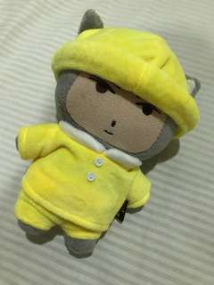 Kindergarten Doll Uniform (Yellow)