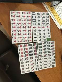 23mm mahjong set **BRAND NEW**