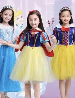 BN Snow White costume 110cm/120cm